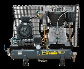 Schneider Kompressor UniMaster STB UNM STB 780-15-10 Druck 15bar. Liefermenge eff. 640 Liter / min.