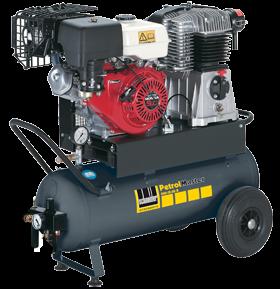 Schneider Kompressor PetrolMaster PEM 500-15-50 B Druck 15bar. Liefermenge eff. 400 Liter / min.