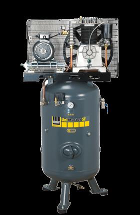 Schneider Kompressor UniMaster STS UNM STS 780-15-270 Druck 15bar. Liefermenge eff. 640 Liter / min.