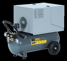 Schneider Kompressor SilentMaster SEM 320-10-60 W Druck 10bar. Liefermenge eff. 240 Liter / min.