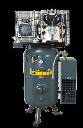 Schneider Kompressor UniMaster STS mit Kältetrockner UNM STS 780-15-270 XDK Druck 15bar. Liefermenge
