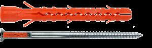 Mungo MB-SK Fassadendübel inkl. Schraube mit Kopflochbohrung/MN5/T40