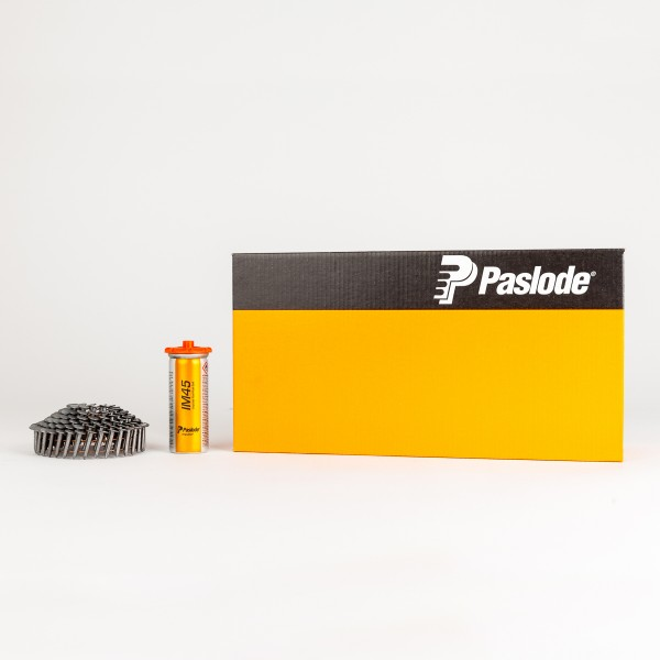 Paslode Impulse Packs 3,0 x 25 Feuerverzinkte Pappnägel für IM45CW + IM45CW Lithium