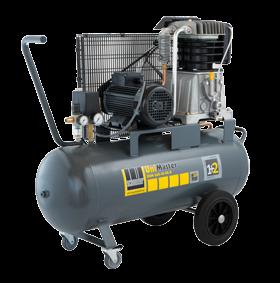 Schneider Kompressor UniMaster UNM 660-10-90D max. Druck 10bar. Liefermenge eff. 520 Liter / min.