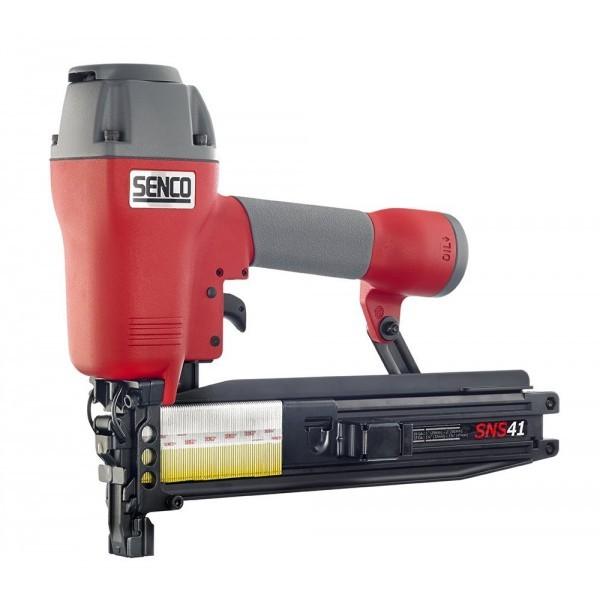 SENCO Klammergerät SNS41 / 25-50 mm inkl. 10.000 Heftklammern in 50mm Länge.