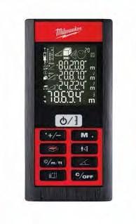 Milwaukee 1 Laser-Entfernungsmesser LDM 80
