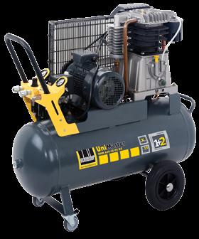 Schneider Kompressor UniMaster UNM 660-10-90DX max. Druck 10bar. Liefermenge eff. 520 Liter / min.