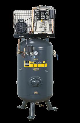 Schneider Kompressor UniMaster STS UNM STS 580-15-270 Druck 15bar. Liefermenge eff. 470 Liter / min.