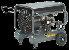 Schneider Kompressor CompactMaster 400-10-20 W max. Druck 10bar. Liefermenge eff. 300 Liter / min.