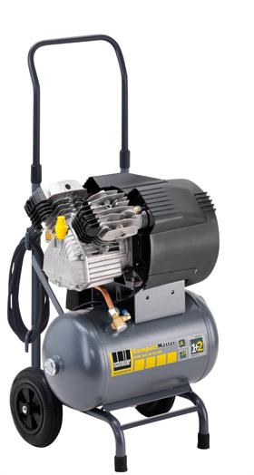 Schneider Kompressor CompactMaster CPM 360-10-20 WX max. Druck 10bar.