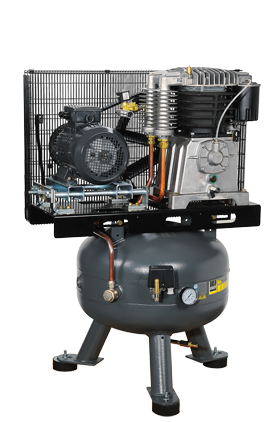 Schneider Kompressor UniMaster STS UNM STS 1000-10-90 Druck 10bar. Liefermenge eff. 790 Liter / min.
