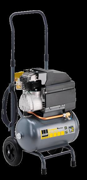 Schneider Kompressor CompactMaster CPM 310-10-20 WX max. Druck 10bar.