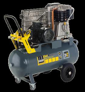 Schneider Kompressor UniMaster UNM 580-15-90DX max. Druck 15bar. Liefermenge eff. 470 Liter / min.