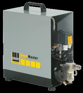 Schneider Kompressor SilentMaster SEM 30-8-4 W Druck 8bar. Liefermenge eff. 19 Liter / min.
