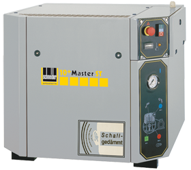Schneider Kompressor SilentMaster STS ZPM STS 750-15 Druck 15bar. Liefermenge eff. 525 Liter / min.
