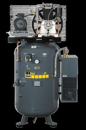 Schneider Kompressor UniMaster STS mit Kältetrockner UNM STS 1250-10-500 XDK Druck 10bar. Liefermeng