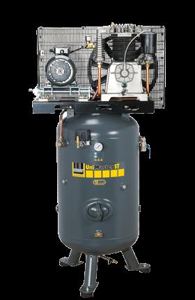 Schneider Kompressor UniMaster STS UNM STS 1000-10-270 Druck 10bar. Liefermenge eff. 790 Liter / min