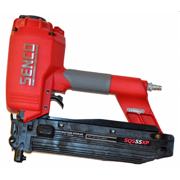SENCO Klammergerät SQS 55 XP inklusive 30.000 Q-Heftklammern mit Bauzulassung