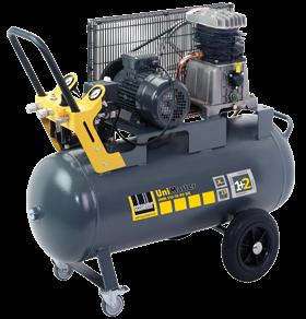 Schneider Kompressor UniMaster UNM 510-10-90DX max. Druck 10bar. Liefermenge eff. 390 Liter / min.