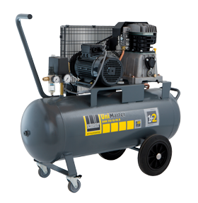Schneider Kompressor UniMaster UNM 510-10-90D max. Druck 10bar. Liefermenge eff. 390 Liter / min.