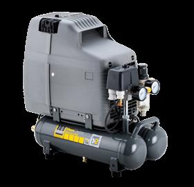 Schneider Kompressor SilentMaster SEM 110-8-6 WOF Druck 8bar. Liefermenge eff. 68 Liter / min.