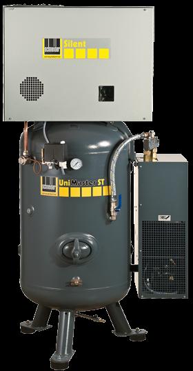 Schneider Kompressor UniMaster STS Silent mit Kältetrockner UNM STS 660-10-270 XSDK Druck 10bar. Lie