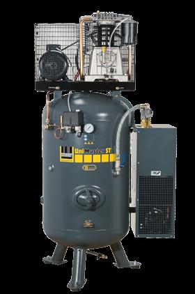 Schneider Kompressor UniMaster STS mit Kältetrockner UNM STS 660-10-270 XDK Druck 10bar. Liefermenge
