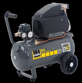 Schneider Kompressor UniMaster UNM 210-8-25W max. Druck 8bar. Liefermenge eff. 110 Liter / min.
