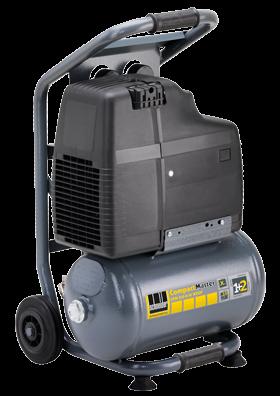 Schneider Kompressor CompactMaster CPM 210-8-10 WXOF max. Druck 8bar.