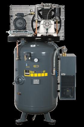 Schneider Kompressor UniMaster STS mit Kältetrockner UNM STS 780-15-500 XDK Druck 15bar. Liefermenge