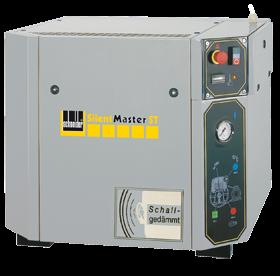 Schneider Kompressor SilentMaster STS SEM STS 850-10 Druck 10bar. Liefermenge eff. 680 Liter / min.