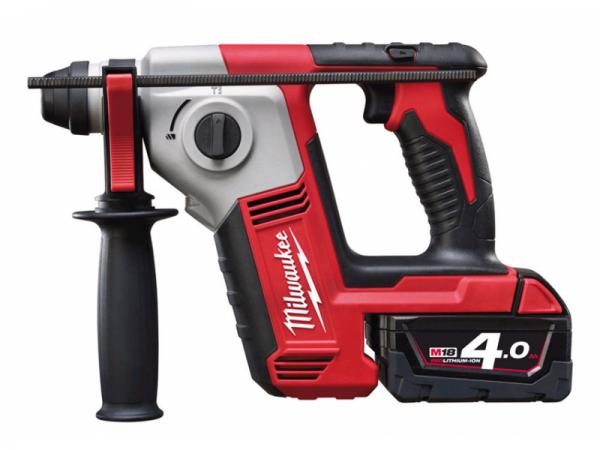 Milwaukee Akku-Bohrhammer M18 BH / 4,0 Ah