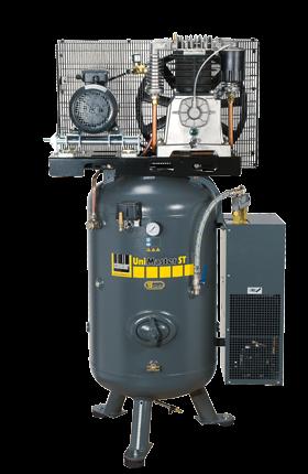 Schneider Kompressor UniMaster STS mit Kältetrockner UNM STS 1250-10-270 XDK Druck 10bar. Liefermeng