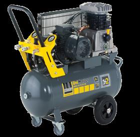 Schneider Kompressor UniMaster UNM 410-10-50DX max. Druck 10bar. Liefermenge eff. 295 Liter / min.