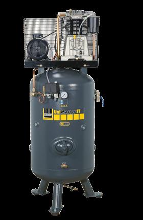 Schneider Kompressor UniMaster STS UNM STS 660-10-270 Druck 10bar. Liefermenge eff. 520 Liter / min.