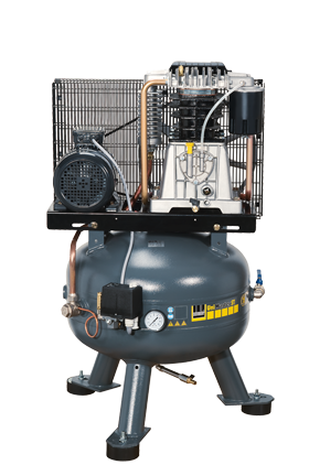 Schneider Kompressor UniMaster STS UNM STS 660-10-90 Druck 10bar. Liefermenge eff. 520 Liter / min.